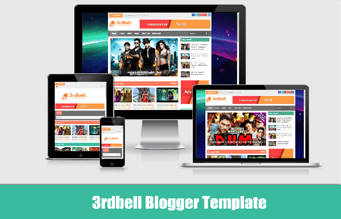 3rdbell Blogger Theme | Video Blogger Template |  free Blogger Template  Download