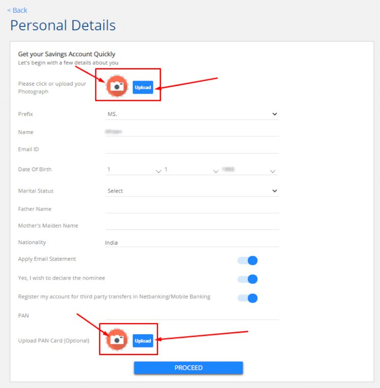 How to open a zero balance account with HDFC Bank skrcreations